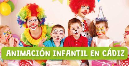 Animación infantil en Cádiz