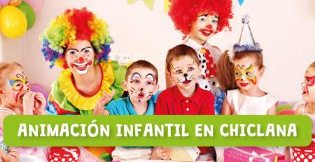 Animadores infantiles en Chiclana