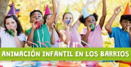 Animación infantil en Los Barrios